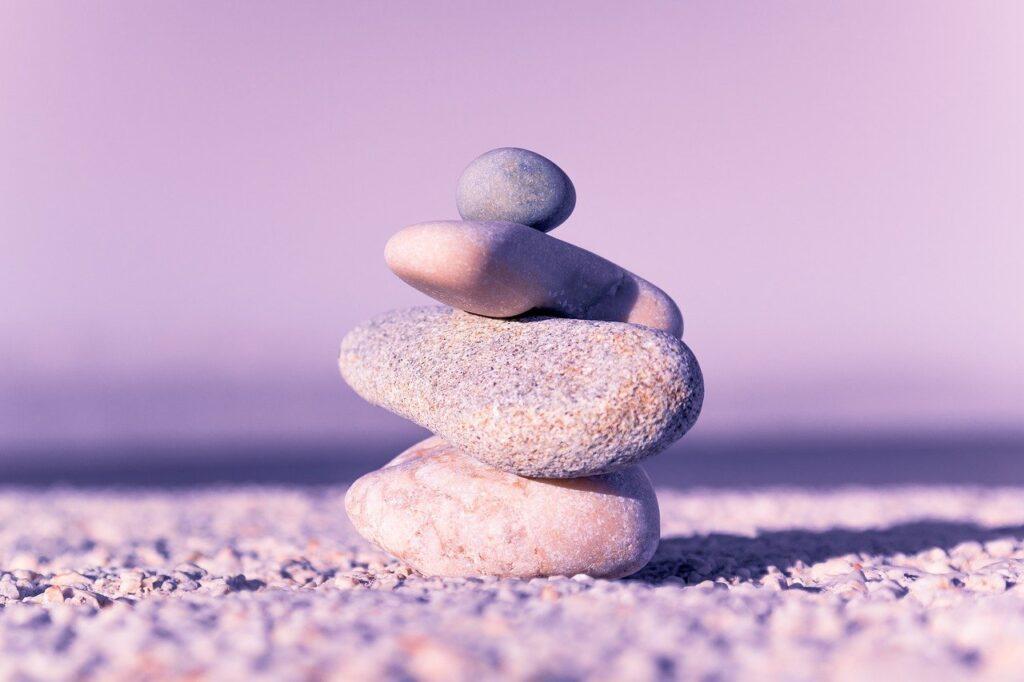 rock, balance, spa